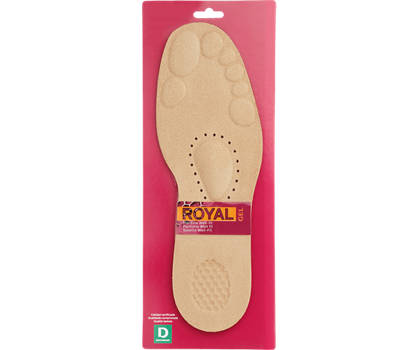 Soft Gel Comfort Insole (Size 7-8)