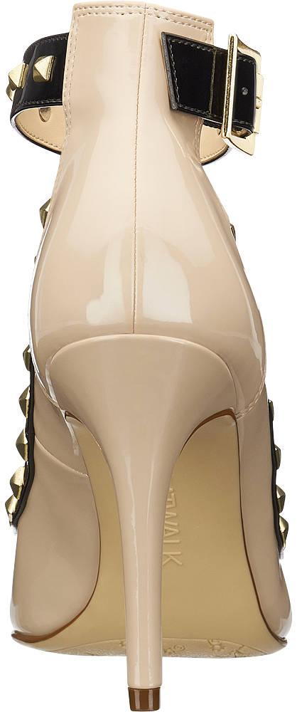 Catwalk Spangen Pumps beige, schwarz