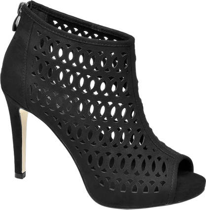 Star Collection Cut Out Peep-Toe Heels