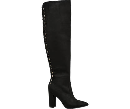 Star Collection Eyelet Detail Knee High Boot