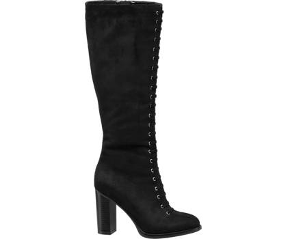 Star Collection High Leg Lace Up Boot