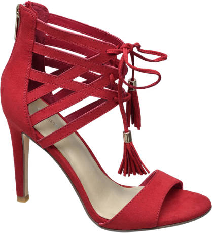 Star Collection Lace-up Heeled Sandals