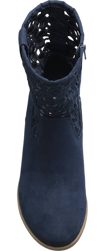 Graceland Stiefelette blau