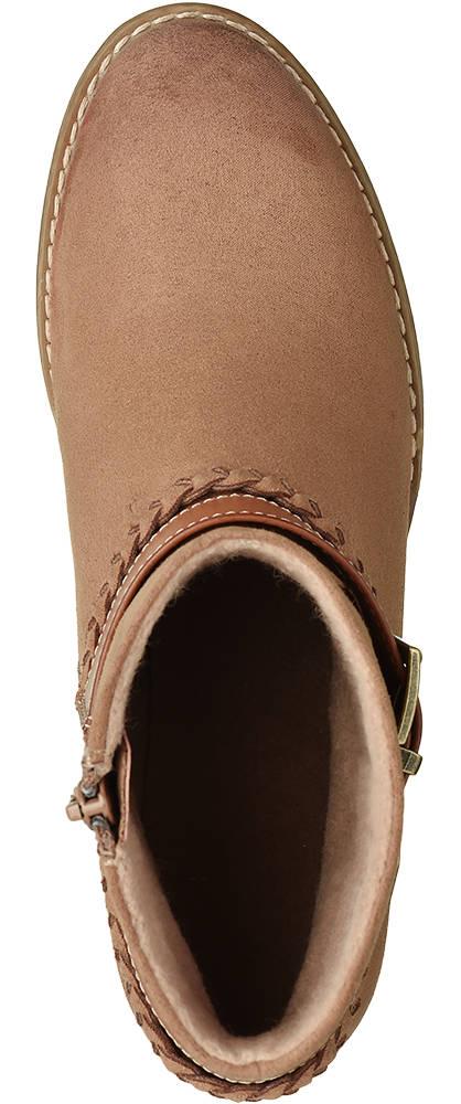 Graceland Stiefelette cognac