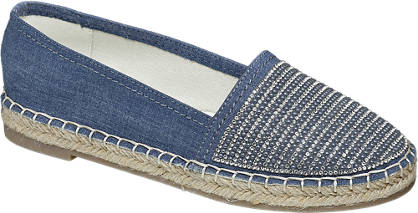 Star Collection Strasszos espadrilles
