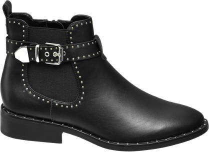 Star Collection Szegecses chelsea boot