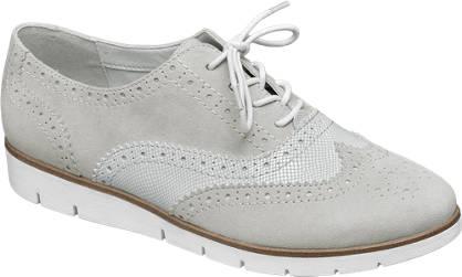 Star Collection Szürke dandy cipő