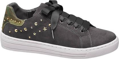 Graceland Szürke sneaker platform járótalppal