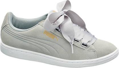 Puma Szürke, szatén fűzős PUMA VIKKY RIBBON sneaker