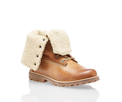 Timberland Timberland 6 In Shearling boot à lacet femmes cognac
