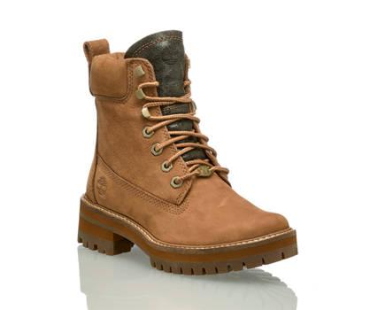 Timberland Timberland Courmayeur Valley Yb boot à lacet femmes brun
