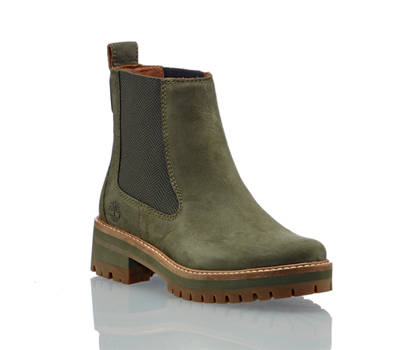 Timberland Timberland Courmayeur Valley chelsea boot donna oliva