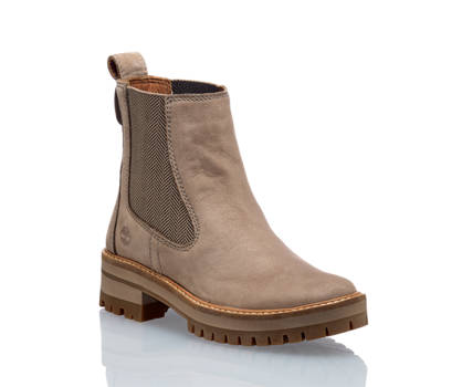 Timberland Timberland Courmayeur Valley chelsea boot donna taupe