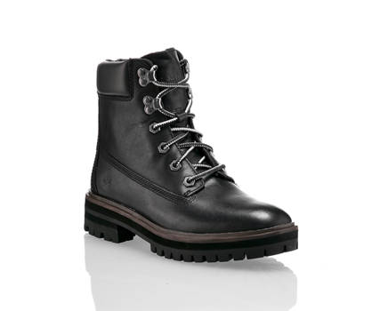 Timberland Timberland London Square 6in Damen Schnürboot Schwarz
