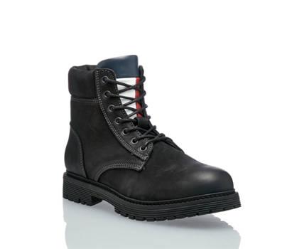 Tommy Hilfiger Tommy Hilfiger Lois 7N boot à lacet hommes noir