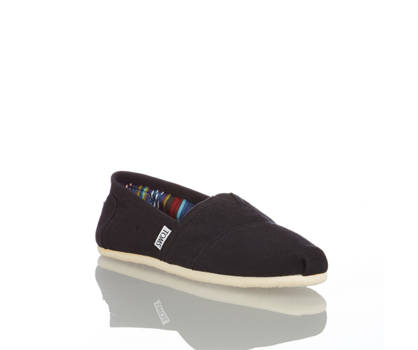 Toms Toms Originals Classics Damen Slipper Schwarz