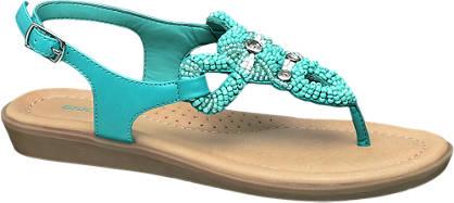 Graceland Türkíz színű szandál