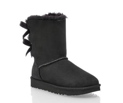 Ugg UGG W Bailey Bow II Damen Boot Schwarz