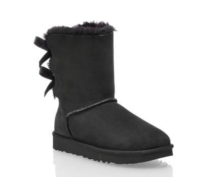 Ugg UGG W Bailey Bow II boot donna nero