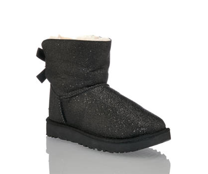 Ugg UGG W Bailey Bow Sparkle Damen Boot Schwarz