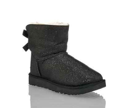 Ugg UGG W Bailey Bow Sparkle boot femmes noir