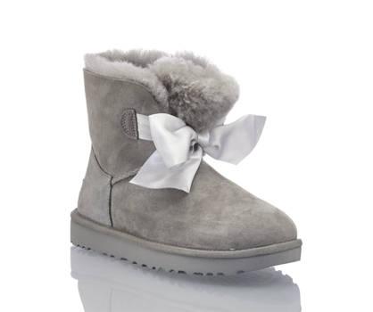 Ugg UGG W Gita Bow Damen Boot Grau