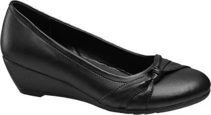 Graceland Knot Detail Wedge Shoe (Sizes 13-3)