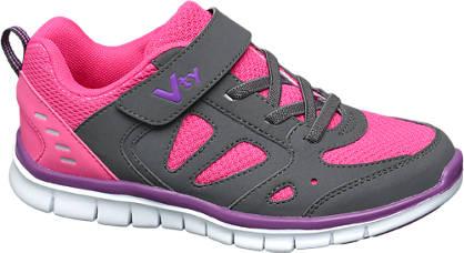 Vty VTY Junior Girls Strap Trainers