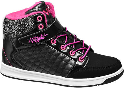 Vty VTY Junior Girls Strap Hi-tops