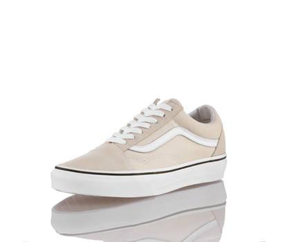 vans old skool damen sneaker in offwhite von vans g nstig im online shop kaufen. Black Bedroom Furniture Sets. Home Design Ideas