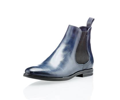 Varese Varese Damen Chelsea Boots Blau