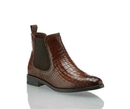 Varese Varese Diva chelsea boot donna cognac