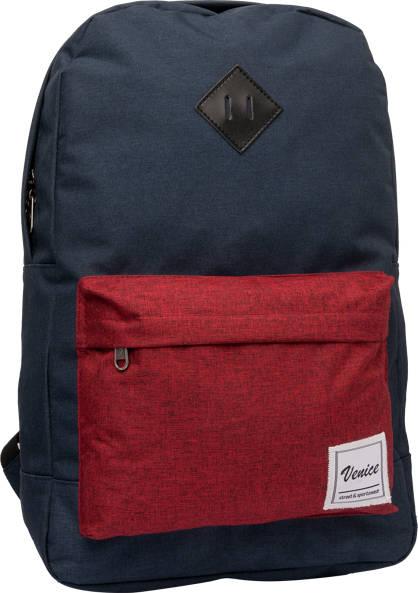 Venice Contrast Pocket Backpack