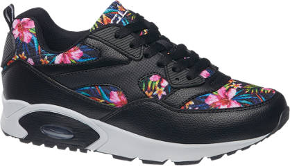 Graceland Virágmintás légpárnás sneaker