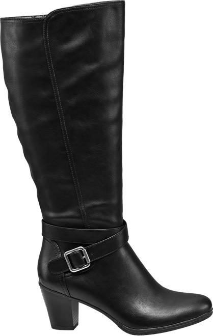 Graceland Weitschaftstiefel  schwarz