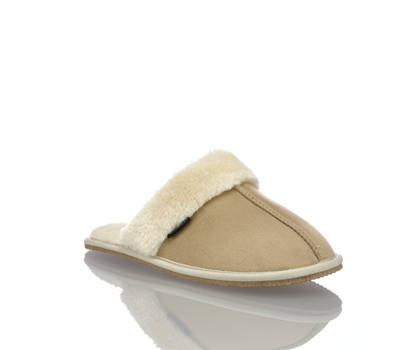 Wellness Wellness Eskimo pantoufle femmes beige