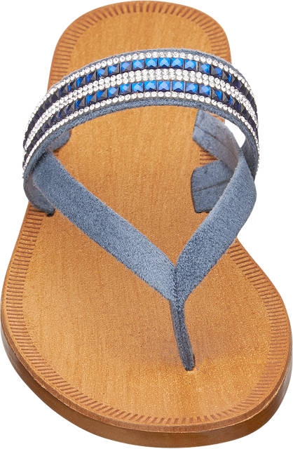 Graceland Zehentrenner blau
