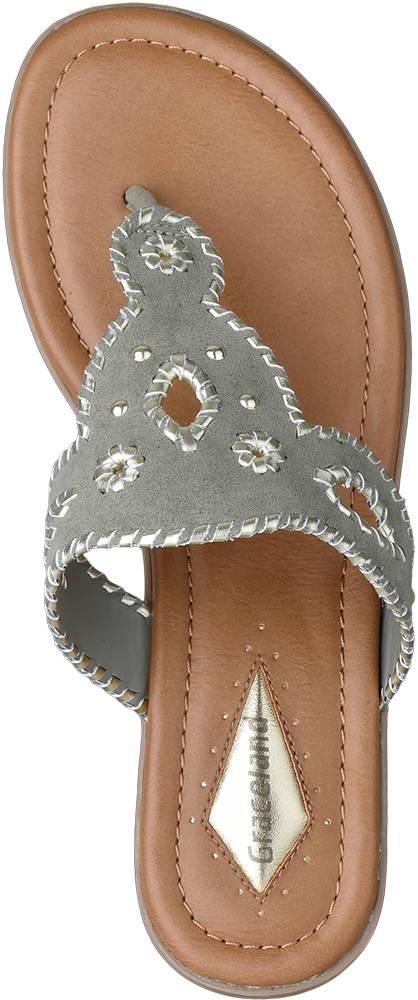 Graceland Zehentrenner khaki
