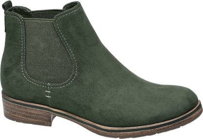 Graceland Zöld chelsea boot