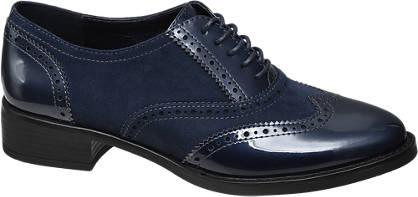 Graceland Éjkék dandy cipő