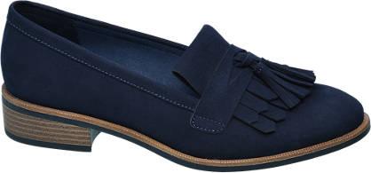 Graceland Éjkék rojtos loafer
