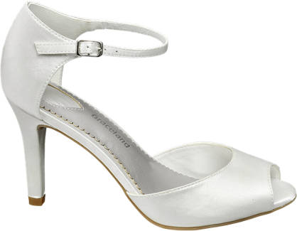 Graceland sandały damskie na obcasie