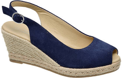 5th Avenue Slingback Wedge Sandals