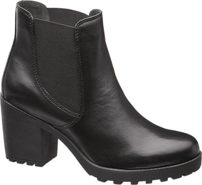 5th Avenue Chunky Leather Boot