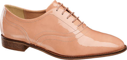 5th Avenue Patent Lace-up Shoes