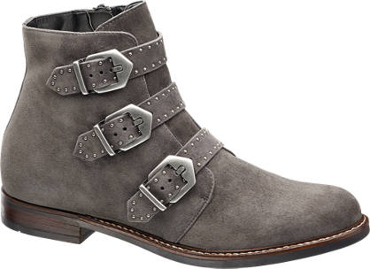5th Avenue Buckled Ankle Boot