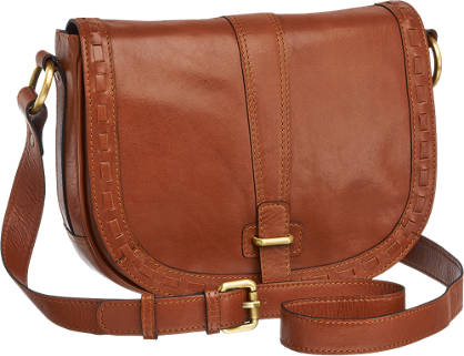 5th Avenue Ladies Leather Cross Body Bag