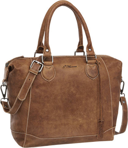 5th Avenue Ladies Leather Shoulder Bag