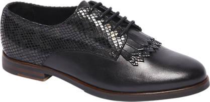 5th Avenue Fringe Detail Leather Loafer