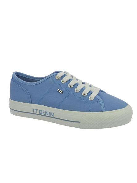 Tom Tailor Дамски сини текстилни кецове Tom Tailor